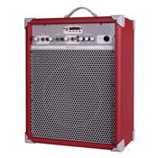 Caixa De Som Amplificada 65W 10 Pol Deep Red Up!10 Ll Áudio