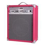 Caixa De Som Amplificada 65W 10 Pol Vivid Pink Up!10 Ll Áudio