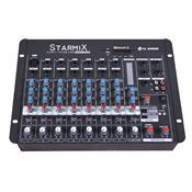 Mesa De Som Starmix Bluetooth 8 Canais 18.4W S802rbt Ll Áudio