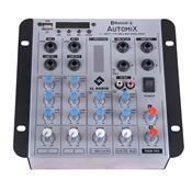 Mesa De Som Automix Bluetooth 7.4W A502rbt Ll Áudio