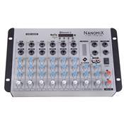Mesa De Som Nanomix Bluetooth 11W 8 Canais Na902rbt Ll Áudio