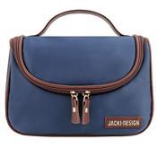 Necessaire Feminina De Viagem Essencial Iii Azul Escuro Jacki Design