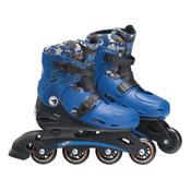 Patins Infantil Ajustáveis M2 33 Á 36 Hot Wheels 8007-8 Fun
