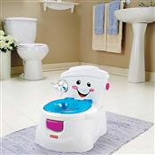 Troninho Com Som Toilette Branco N8940 Fisher Price
