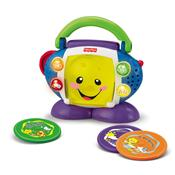 Cd Player Portátil Aprender E Brincar P5314 Fisher Price