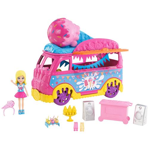 Boneca Polly Carnaval De Sorvete Dvj67 Polly
