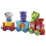 Brinquedo Trem Amigos Da Floresta Dmc44 Fisher Price
