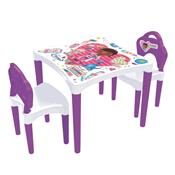 Mesa Com Cadeiras Dra. Brinquedos 1940.9 Xalingo