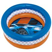 Piscina P Inflável 68L Hot Wheels Radical 8096-0 Fun