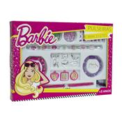 Pulseira E Bracelete Da Barbie Miçangas Fashion 8111-9 Fun