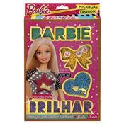 Revista E Pulseira Da Barbie Miçangas Fashion Pink 7972-2 Fun