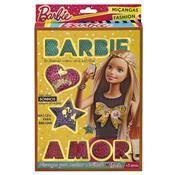 Revista E Pulseira Da Barbie Miçangas Fashion Dourado 7972-3 Fun