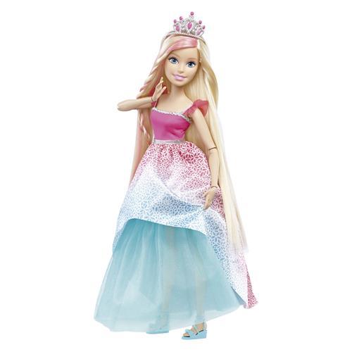 Boneca Articulada Princesa Barbie Fantasia 43Cm Dpr98