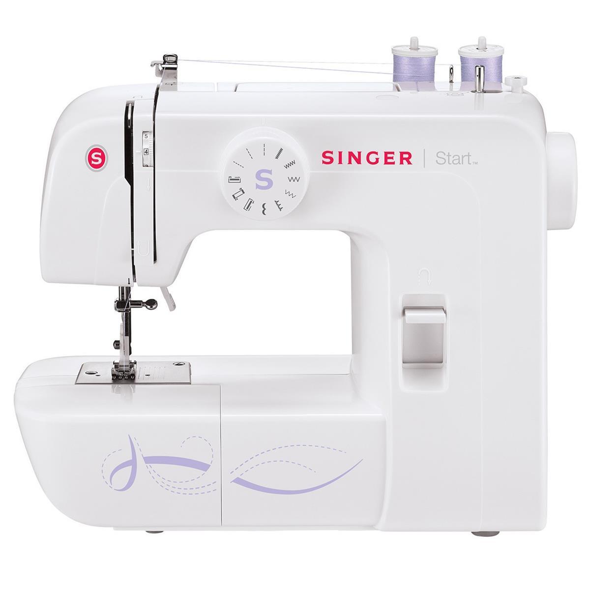 Máquina De Costura Doméstica 70W Start 1306 Singer