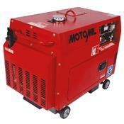 Gerador De Energia À Diesel 5 Kva 220V 127V Mdgt-5000Ats Motomil