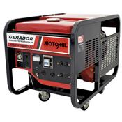 Gerador De Energia À Gasolina 9,5Kva 220V 380V Mgt-11000Cle Motomil