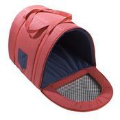 Transporte Fechado Em Nylon Para Pet Tamanho 1 Vermelho Fabrica Pet