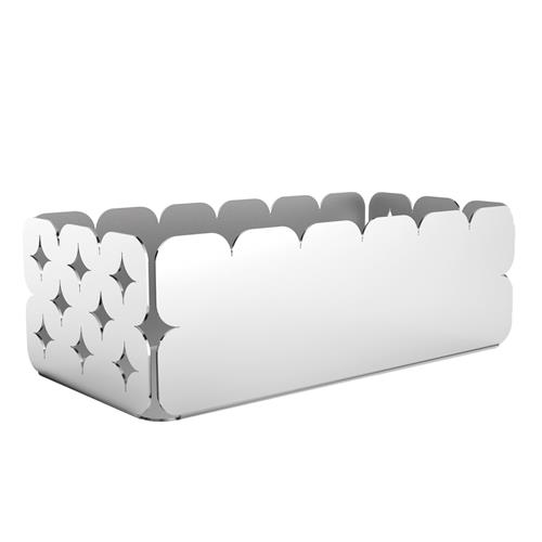Organizador Aço Inox 15Cm Branco Luce 61808154 Tramontina