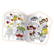 Livro Infantil Pinte E Lave Divertido 8075-5 Fun