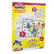 Play Doh Colorindo Com Números E Decore Com Adesivos 77881 Fun
