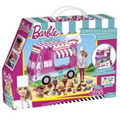 Barbie Massinha Food Truck Sorvetes E Delícias 79679  Fun