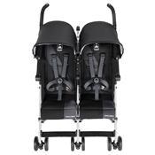 Carrinho Para Bebês Gêmeos Twin Triumph Medieval Preto Charcoal Maclaren