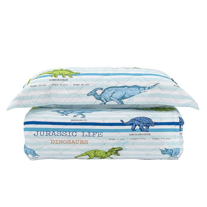 Cobre leito com porta travesseiro dinos solteiro 160 x 240 for Porta 240 cm