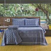 Jogo De Cama Duplo Solteiro Home Design Luck Azul Santista