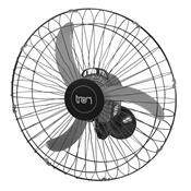 Ventilador De Parede Oscilante 140W Bivolt Preto Tron
