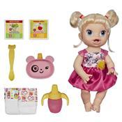 Boneca Baby Alive Loira Hora De Comer A7022 Hasbro