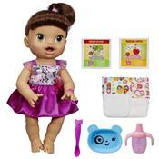 Boneca Baby Alive Morena Hora De Comer A8346 Hasbro