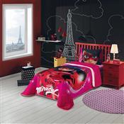 Edredom Solteiro Ladybug 150 X 200 Cm Vermelho Lepper