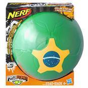 Bola De Futebol Nerf Sports Verde A8279 Hasbro