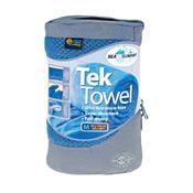 Toalha Esportiva Ultra Absorvente Tek Towel Azul Sea To Summit