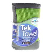Toalha Esportiva Ultra Absorvente Tek Towel Verde Sea To Summit