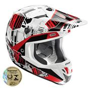 Capacete Motocross Verge Block Amp Vermelho 0110 Thor