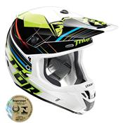 Capacete Motocross Verge Stack Verde 0110 Thor