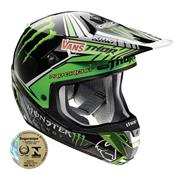 Capacete Motocross Verge Pro Circuit Preto E Verde 0110 Thor