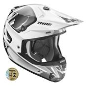 Capacete Motocross Verge Vort Branco E Cinza 0110 Thor