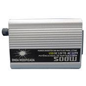 Inversor De Tensão 500W 12V 110V Ultra Eletrônicos
