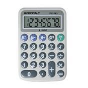 Calculadora Pessoal 8 Dígitos Extra Grande Cinza Pc083 Procalc