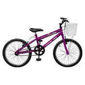 Bicicleta Feminina Serena Aro 20 Violeta Master Bike