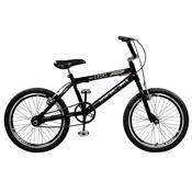 Bicicleta Jump Aro 20 Aero 36 Raios Preta Master Bike