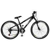 Bicicleta Free Rider 21 Marchas Aro 26 Preta Master Bike