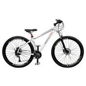 Bicicleta Extreme Pro 27 Marchas Aro 29 Branca Master Bike