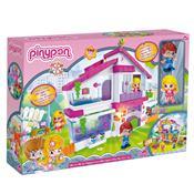 Brinquedo Playset Pinypon Villa Com 2 Bonecos Br551 Multikids