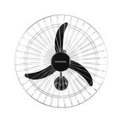 Ventilador De Parede Preto 60Cm Grade Cromada Premium Ventisol 220V