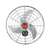 Ventilador De Parede 70Cm Power 230W Cinza Bivolt Ventisol