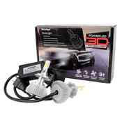 Kit Lâmpadas Super Led H7 50W 24/24V 6000K 4500 Lúmens Shocklight