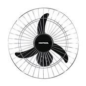 Ventilador De Parede 50Cm 130W 1300Rpm Grade Cromada Premium Ventisol